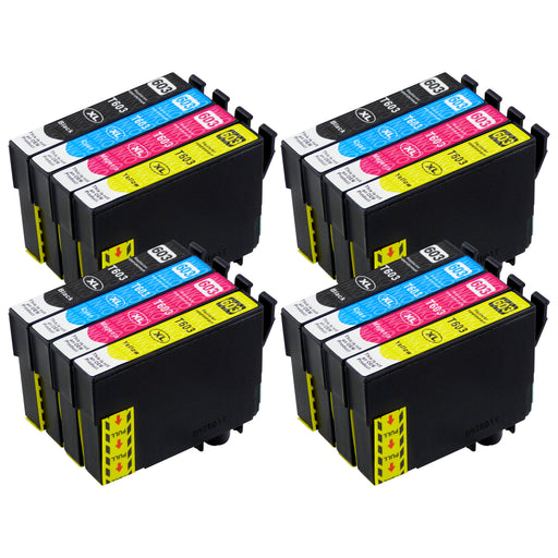 Compatible Epson 603XL (T03A6) High Capacity Multipack Ink Cartridge (4 Sets)