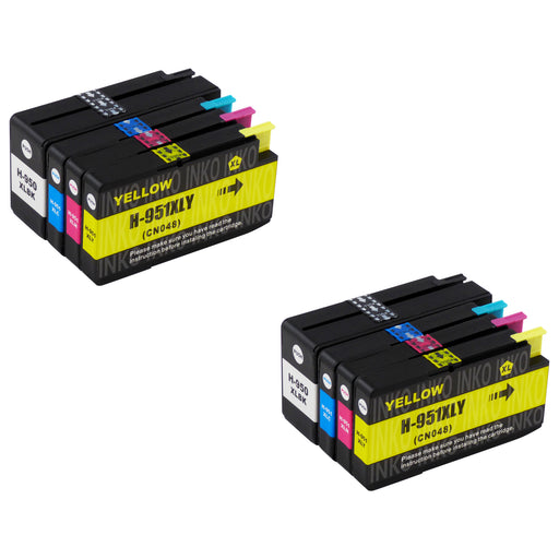 Compatible HP 950XL/951XL Ink Cartridges Multipack (2 Sets)
