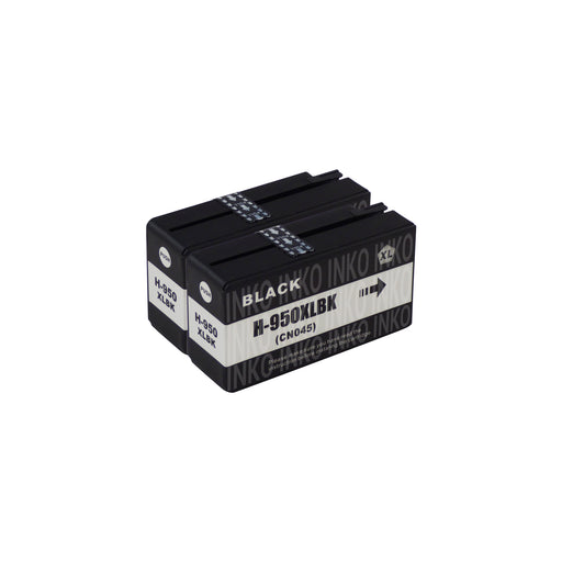 Compatible HP 950XL Black Ink Cartridge Twinpack
