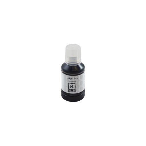 Compatible Epson Ecotank Black Ink Bottle 130ml - (104 105 111 T6641 T7741)
