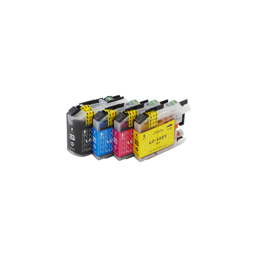 Compatible Brother LC127XL/LC125XL Ink Cartridges Multipack