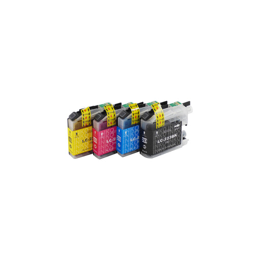 Compatible Brother LC223XL Ink Cartridges Multipack