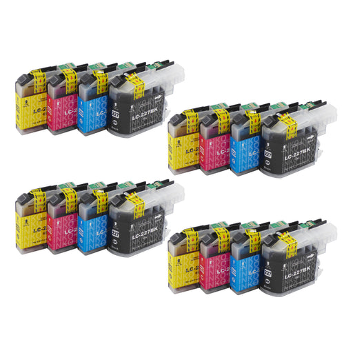 Compatible Brother LC227XL Ink Cartridges Multipack (4 Sets)