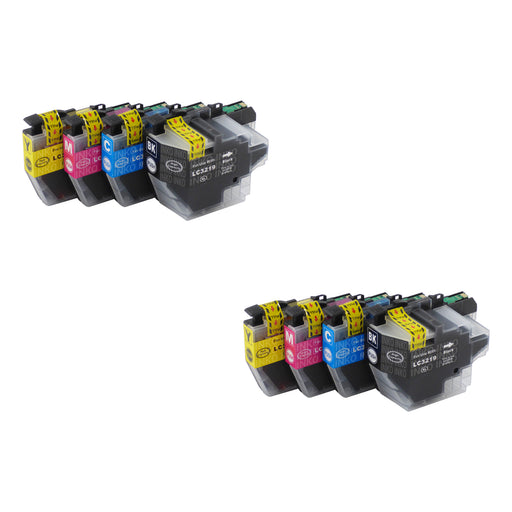 Compatible Brother LC3217XL/LC3219XL Ink Cartridges Multipack (2 Sets)