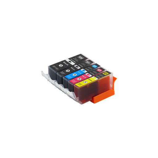 Compatible Canon PGI-520/CLI-521XL High Capacity Ink Cartridge Multipack