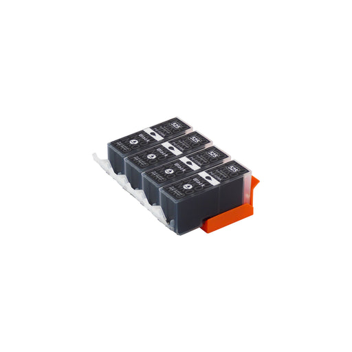 Compatible Canon PGI-525XL High Capacity Black Ink Cartridge Quadpack