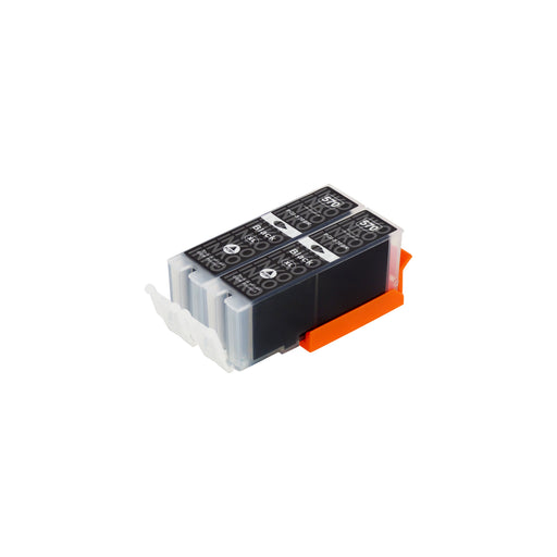 Compatible Canon PGI-570XL (0318C001) High Capacity Black Ink Cartridge Twinpack