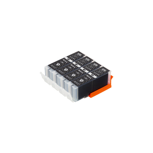 Compatible Canon PGI-570XL (0318C001) High Capacity Black Ink Cartridge Quadpack