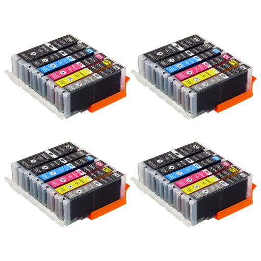 Compatible Canon PGI-570XL/CLI-571XL (0372C004) High Capacity Ink Cartridge Multipack Including Grey (4 Sets)