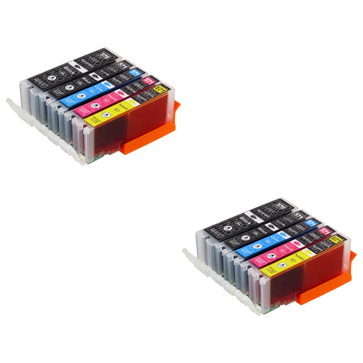 Compatible Canon PGI-570XL/CLI-571XL (0372C004) High Capacity Ink Cartridge Multipack - (2 Sets)