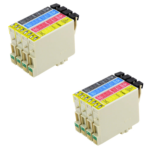 Compatible Epson T0445 Ink Cartridges Multipack (2 Sets)