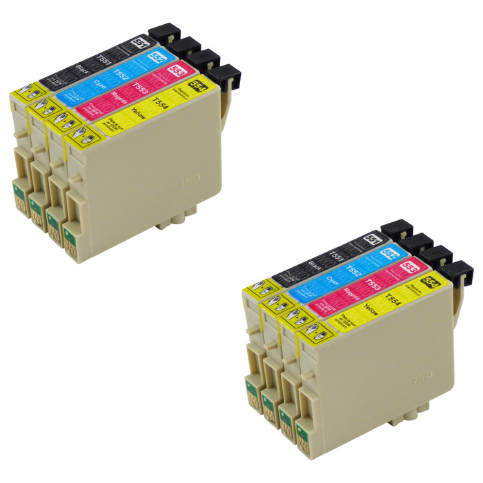 Compatible Epson T0556 Ink Cartridges Multipack (2 Packs)