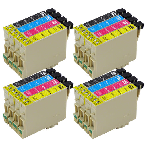 Compatible Epson T0615 Ink Cartridges Multipack (4 Packs)