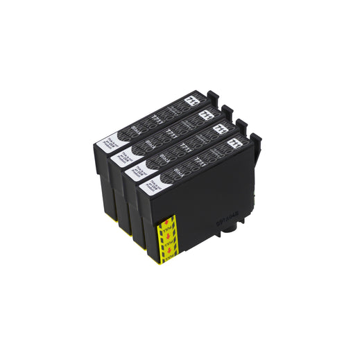 Compatible Epson T0711 High Capacity Black Ink Cartridge Quadpack