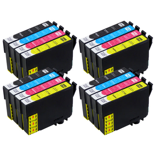 Compatible Epson T0715 High Capacity Ink Cartridge Multipack (4 Sets)
