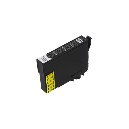 Compatible Epson T0801 Black Ink Cartridge