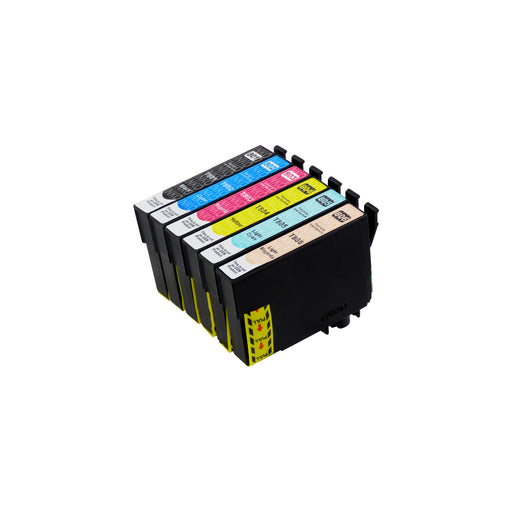 Compatible Epson T0807 Ink Cartridges Multipack