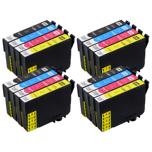 Compatible Epson T1285 High Capacity Ink Cartridge Multipack (4 Sets)