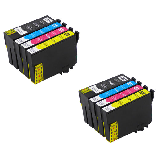 Compatible Epson T13XL (T1306) High Capacity Ink Cartridge Multipack (2 Sets)