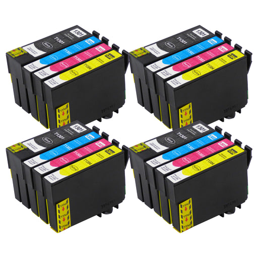 Compatible Epson T13XL (T1306) High Capacity Ink Cartridge Multipack (4 Sets)
