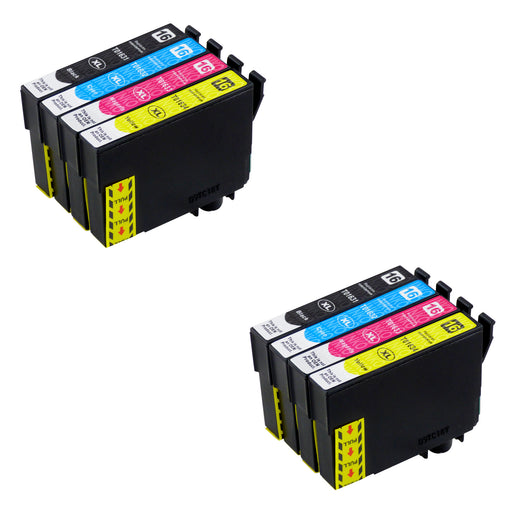Compatible Epson T16XL (T1636) High Capacity Ink Cartridge Multipack (2 Sets)