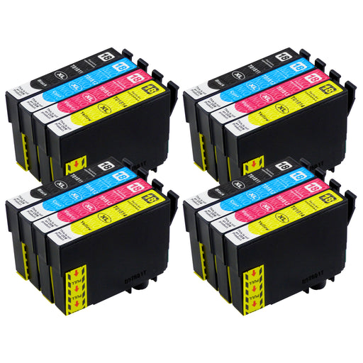 Compatible Epson T18XL (T1816) High Capacity Ink Cartridge Multipack (4 Sets)