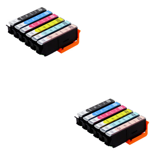 Compatible Epson T24XL (T2438) High Capacity Ink Cartridge Multipack (2 Sets)