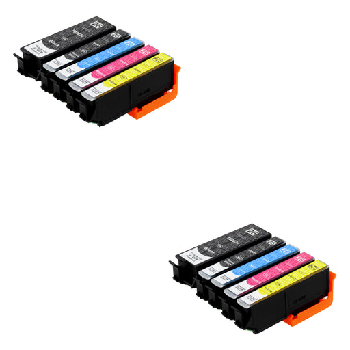 Compatible Epson T26XL (T2636) High Capacity Ink Cartridge Multipack Including Photo Black (2 Sets)