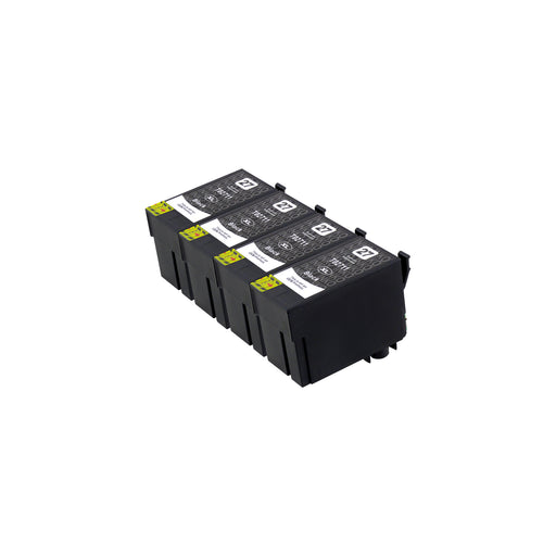 Compatible Epson T27XL (T2711) High Capacity Black Ink Cartridge Quadpack