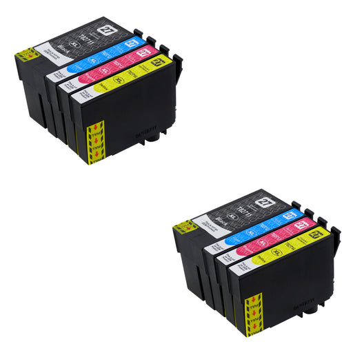 Compatible Epson T27XL (T2716) High Capacity Ink Cartridge Multipack (2 Sets)