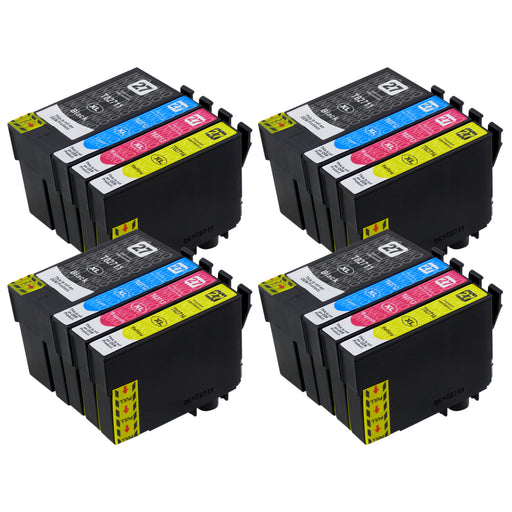 Compatible Epson T27XL (T2716) High Capacity Ink Cartridge Multipack (4 Sets)