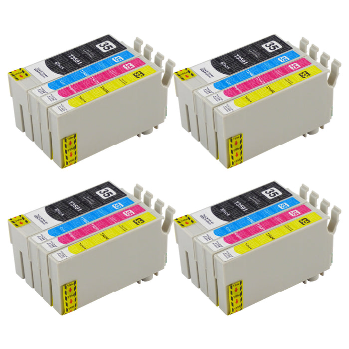 Compatible Epson T35XL (T3596) High Capacity Ink Cartridge Multipack (4 Packs)