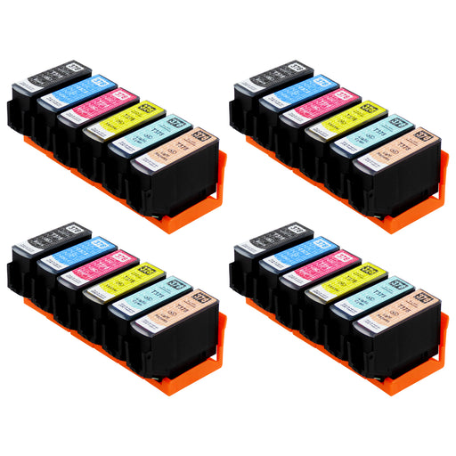 Compatible Epson 378XL (T3798) High Capacity Ink Cartridge Multipack (4 Sets)