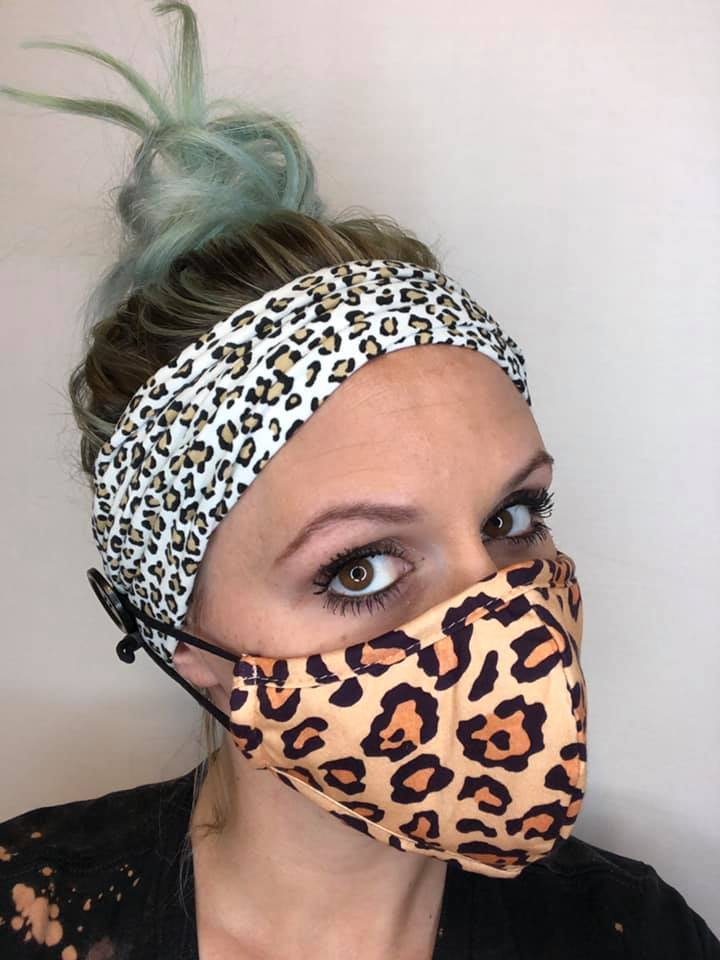 Multi-Functional Mask Assistant Headband