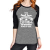 """Small Town Lovin' Kind of Girl"" Women's Raglan Top"