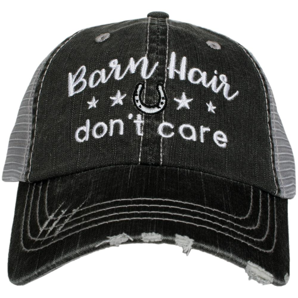 """Barn Hair Don't Care"" Women's Trucker Hat"