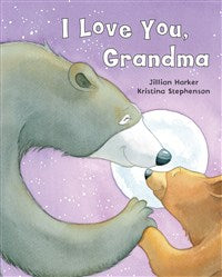 I Love You Grandma Board Book