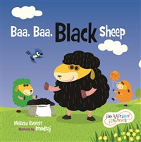 Baa, Baa Black sheep Paperback Book