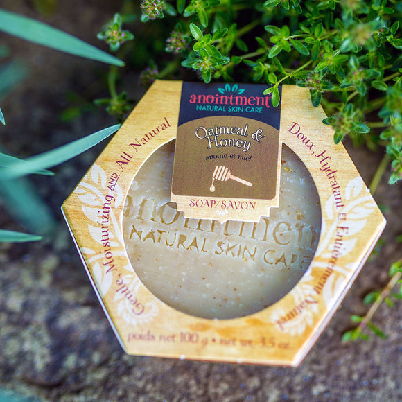 Anointment Soap Oatmeal & Honey Handcrafted