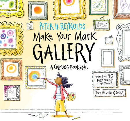 Make Your Mark Gallery - A Colouring Book-ish