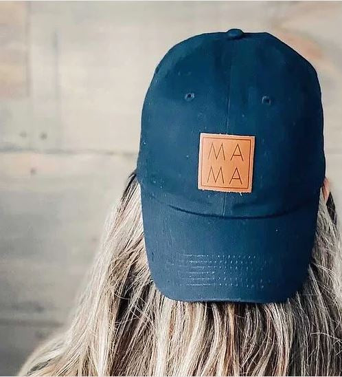 MAMA Patch Ball Cap