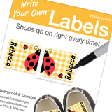 Emily Press Shoe Labels 8prs