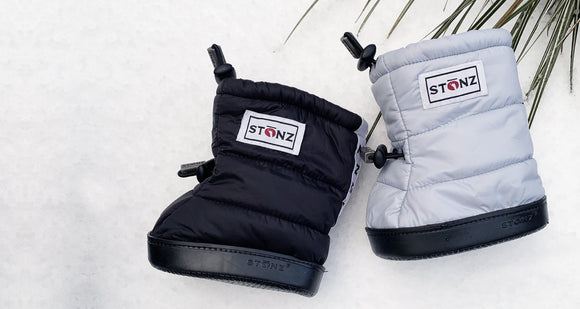 Stonz Winter Baby Puffer Booties