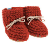 Crochet Sweater Moccs