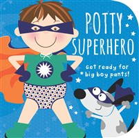 Potty Superhero Board Book