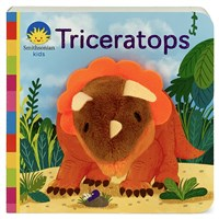Triceratops - Finger Puppet Board Book