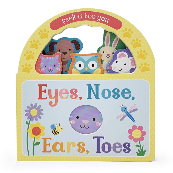 Eyes, Nose, Ears, Toes Board Book