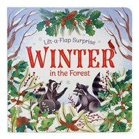 Lift-a-Flap Surprise Winter in the Forest Board Book