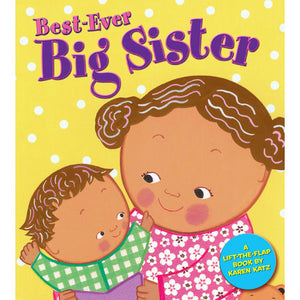 Best-Ever Big Sister Hardcover Book