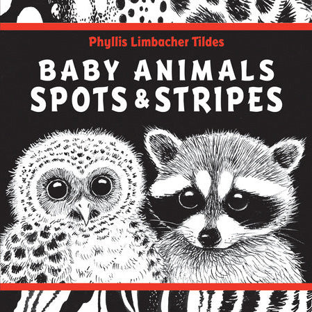 Baby Animals Spots & Stripes Board Book